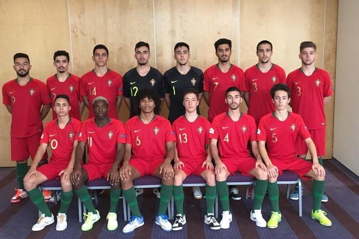 Portugal demolidor no arranque do Europeu Sub-19