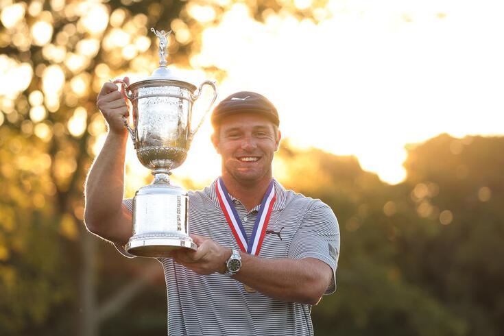 Brysan DeChambeau venceu o US Open em golfe