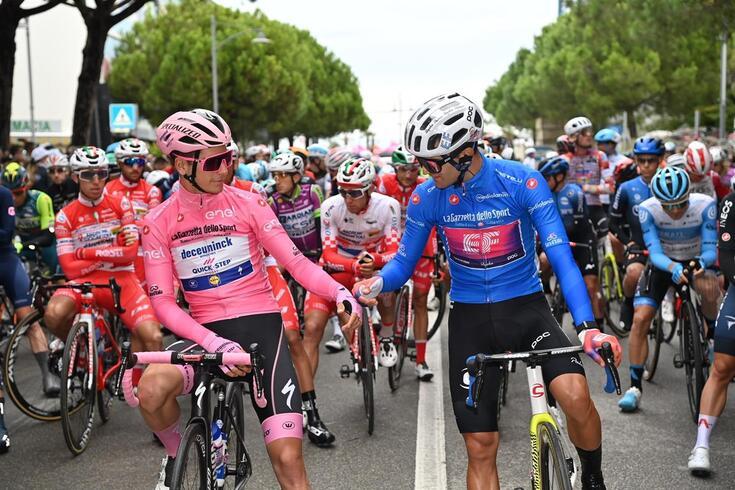 João Almeida, de 22 anos, tem brilhado no Giro