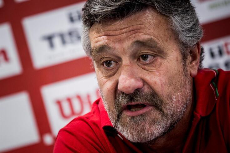 Mário Gomes, selecionador português de basquetebol