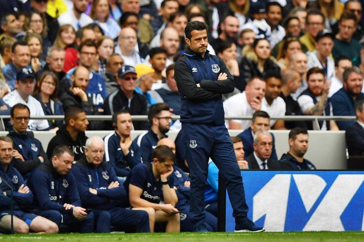 Marco Silva, treinador do Everton, falou sobre a continuidade de André Gomes.
