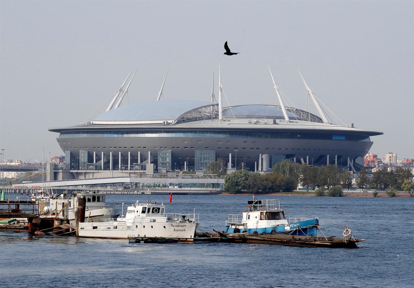 Portugal já sabe que, no Euro'2020, não joga neste Estádio Krestovsky, em São Petersburgo