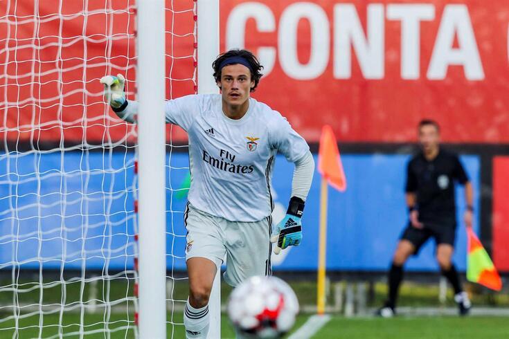 Svilar é, neste momento, a terceira opção para a baliza do Benfica