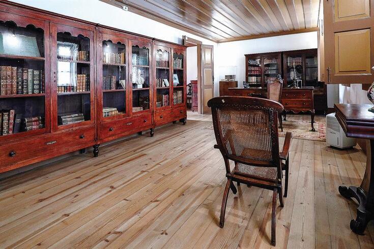 O escritório de Camilo Castelo Branco, em Seide (Famalicão)