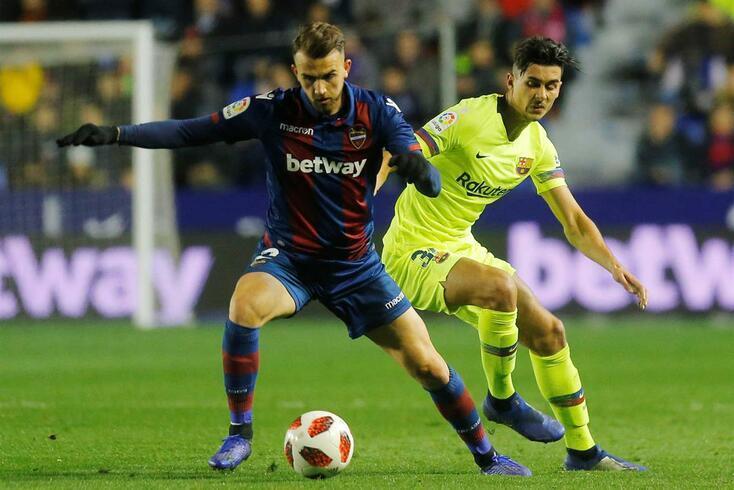Levante apresenta queixa contra o Barcelona