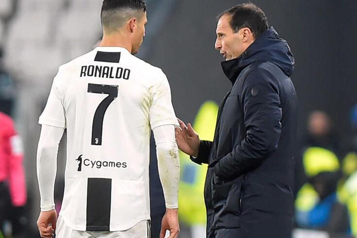 Allegri falou sobre Ronaldo e até abordou o futuro do português