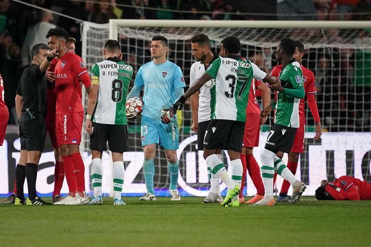 Sporting venceu o Gil Vicente