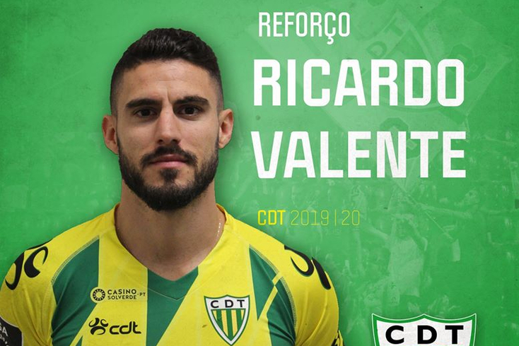 Ricardo Valente é reforço do Tondela