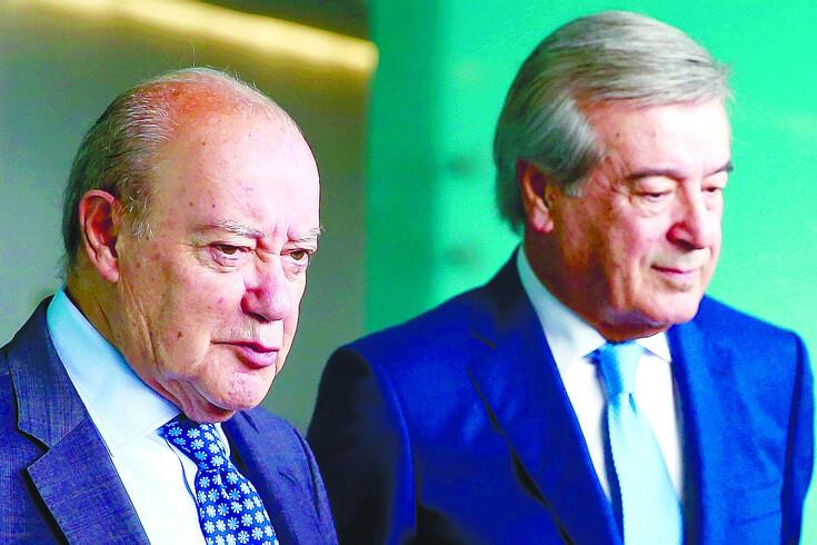 Pinto da Costa e Fernando Gomes