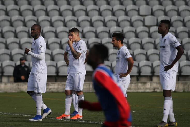 Vitória caiu na Taça aos pés do Sintra Football, do Campenato de Portugal