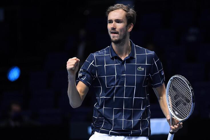 Daniil Medvedev derrotou Rafael Nadal