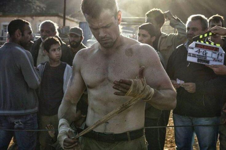Inédito: o treino de Matt Damon para estar assim aos 48 anos!
