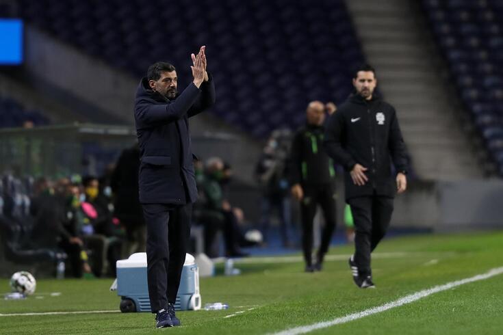 Porto, 13/12/2020 - O Futebol Clube do Porto recebeu esta noite o Clube Desportivo de Tondela no Estádio