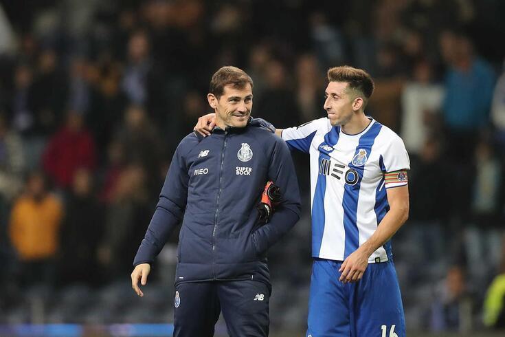Herrera e Iker Casillas ao serviço do FC Porto