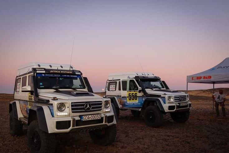 África Eco Race: Camiões dominam sétima etapa
