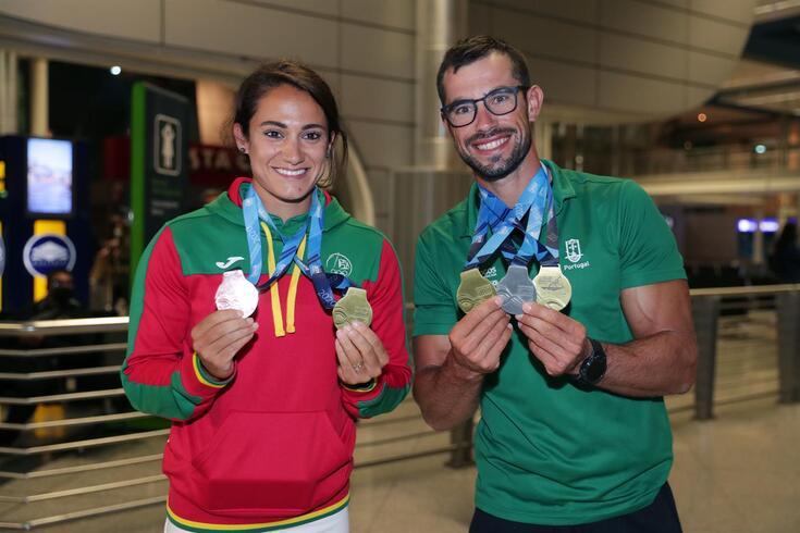 Joana Vasconcelos e Fernando Pimenta