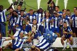 A festa do FC Porto no relvado do Estádio do Dragão