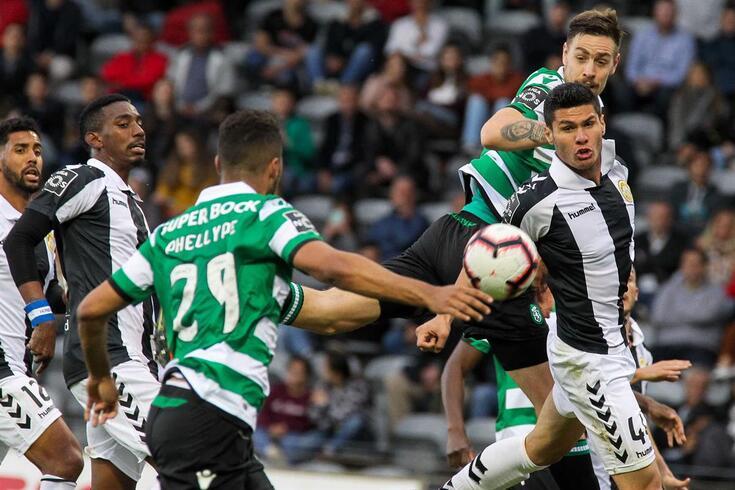 Sporting venceu em casa do Nacional