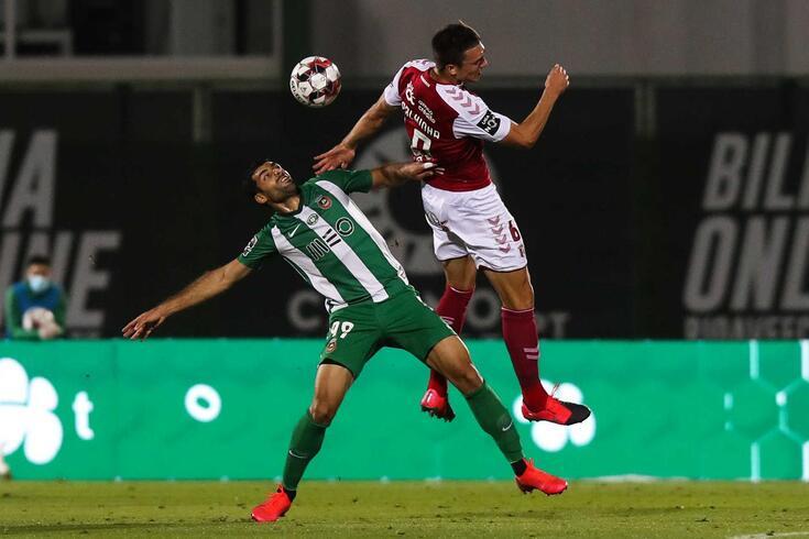 Primeira parte do Rio Ave-Braga teve cinco golos