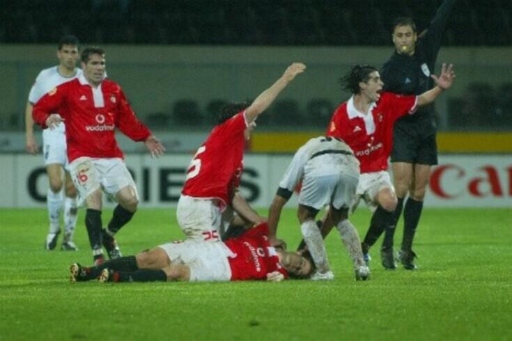 Fehér deixou-nos de forma trágica num jogo em Guimarães