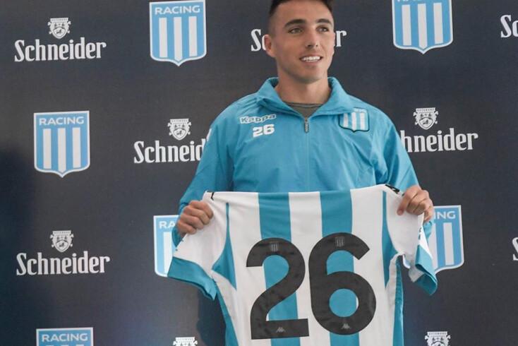 Saravia trocou o Racing pelo FC Porto
