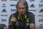 """Jorge Jesus atira-se à arbitragem: """"Na dúvida é sempre contra o Flamengo"""""""