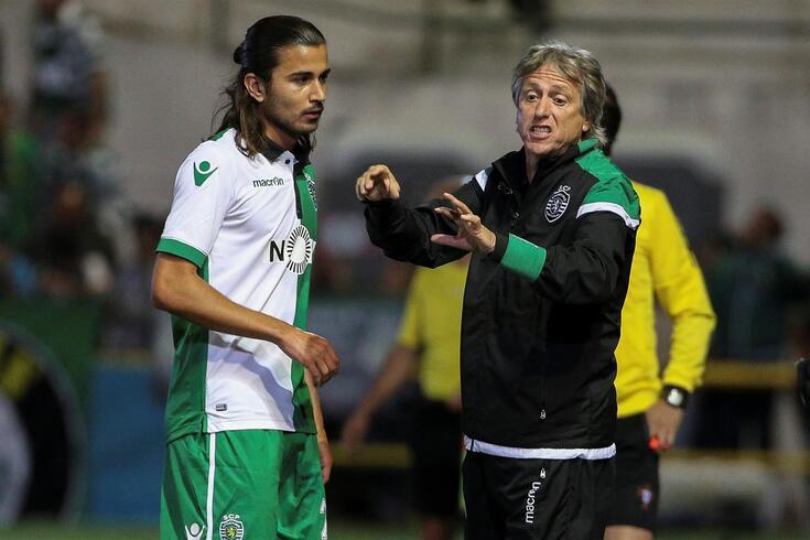 Mattheus Oliveira foi treinado por Jorge Jesus no Sporting e encheu o técnico de elogios