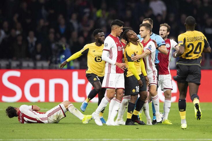 """Renato Sanches esteve em dia """"não"""" frente ao Ajax"""
