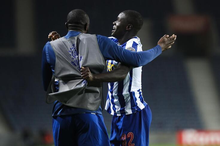 Malang Sarr já sabe o que é marcar pelo FC Porto