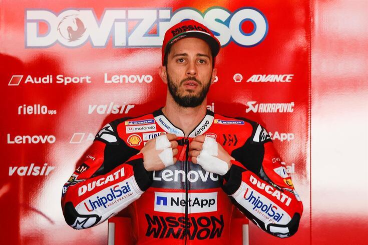 Andrea Dovizioso é piloto da Ducati