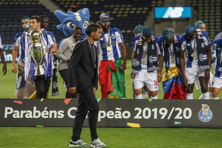 Sérgio Conceição liderou o FC Porto até à dobradinha