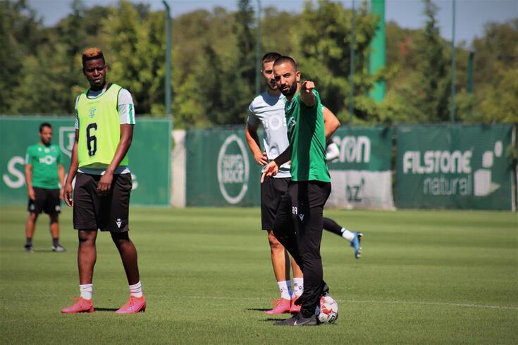 Rúben Amorim orienta mais um treino do Sporting