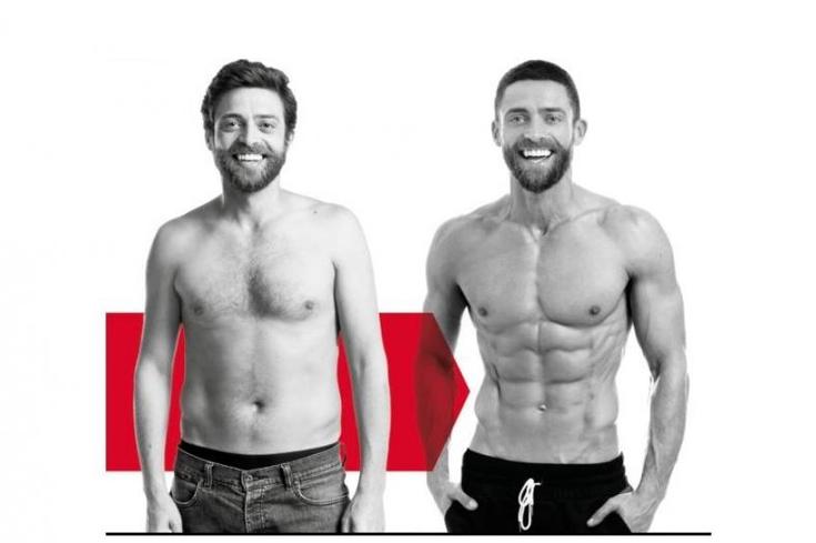 As 5 maiores transformações para a Men's Health