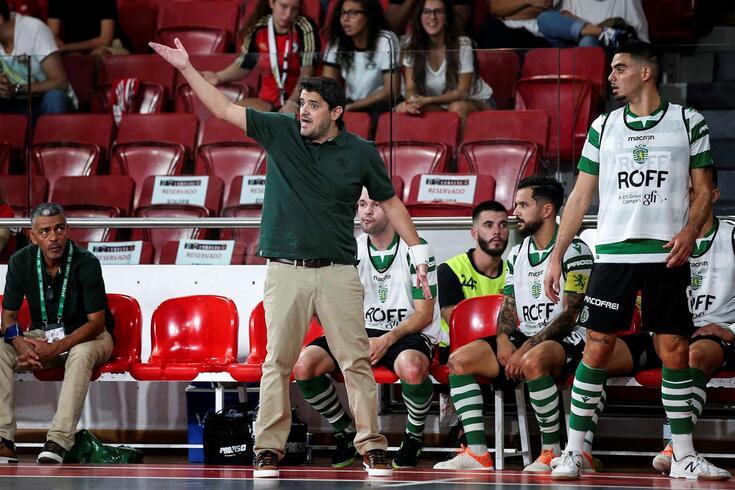 Nuno Dias, treinador do Sporting