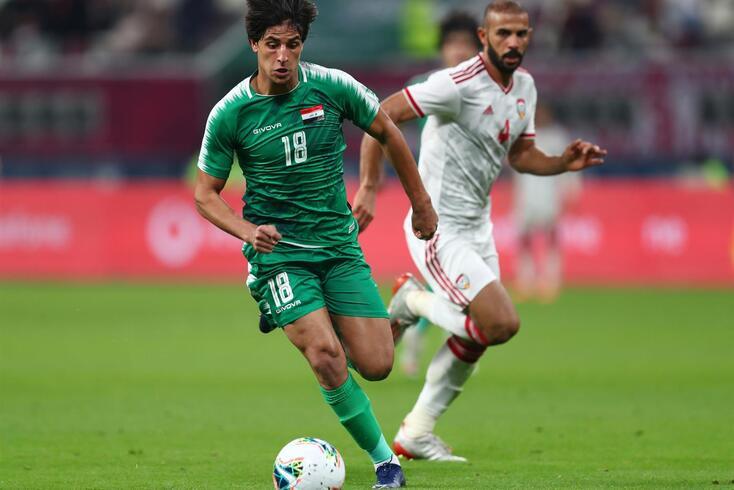 Mohanad Ali, goleador da seleção iraquiana