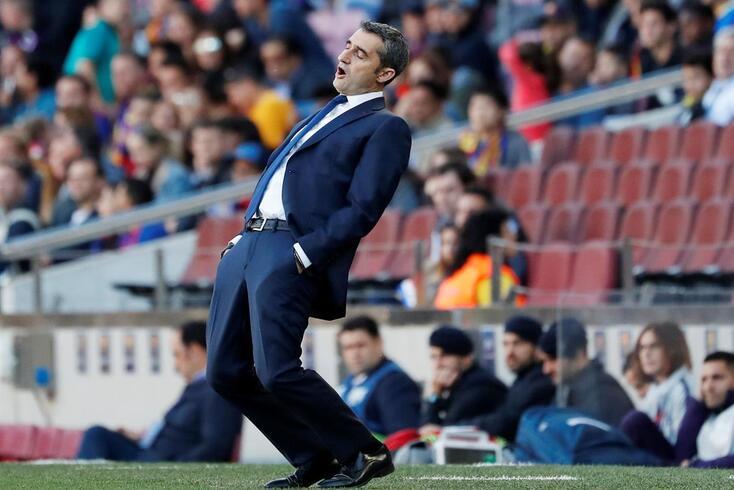Reputação de Ernesto Valverde foi abalada com a eliminação frente ao Liverpool
