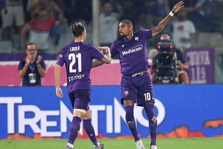 Kevin-Prince Boateng, avançado ganês da Fiorentina