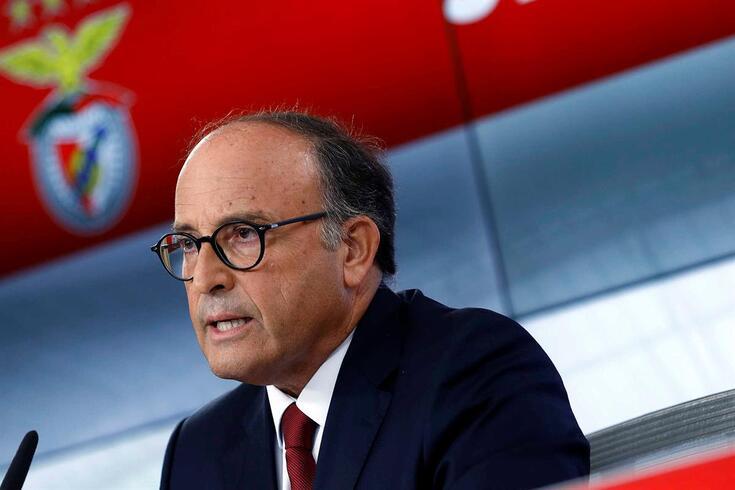 Varandas Fernandes, vice-presidente do Benfica e médico