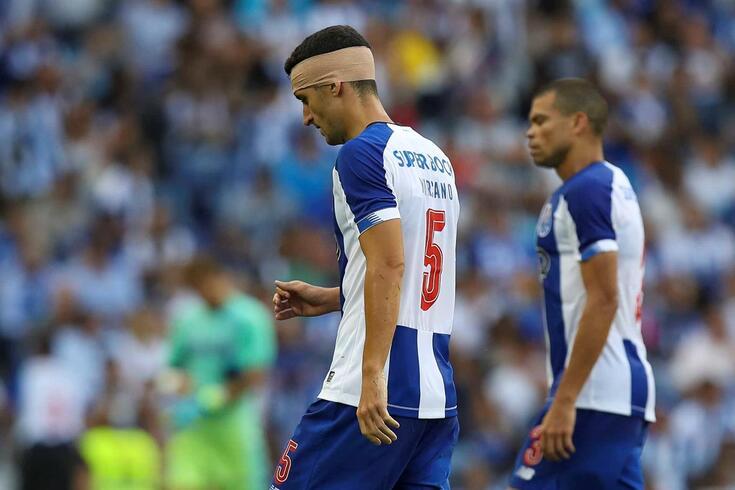 Marcano lesionou-se no FC Porto-Mónaco