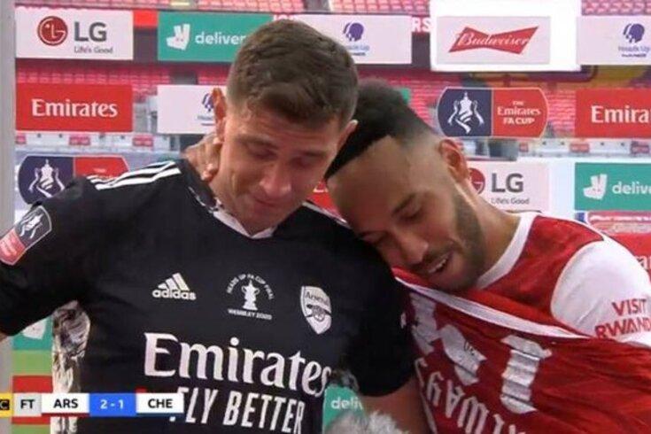 O momento depois da Taça de Inglaterra que não deixou ninguém indiferente