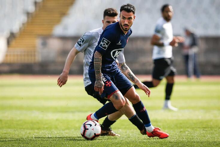 Diogo Viana está de saída do Belenenses.