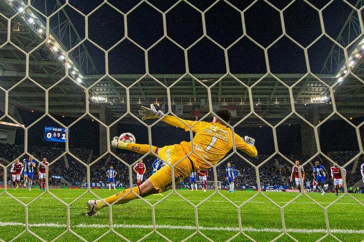 FC Porto falhou duas vezes contra o Braga