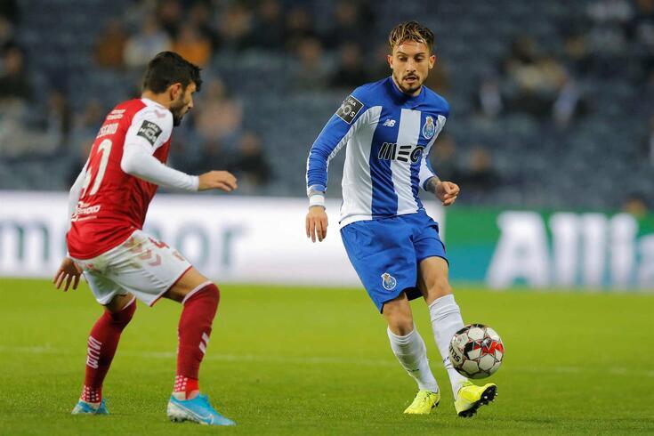 Alex Telles, lateral-esquerdo do FC Porto