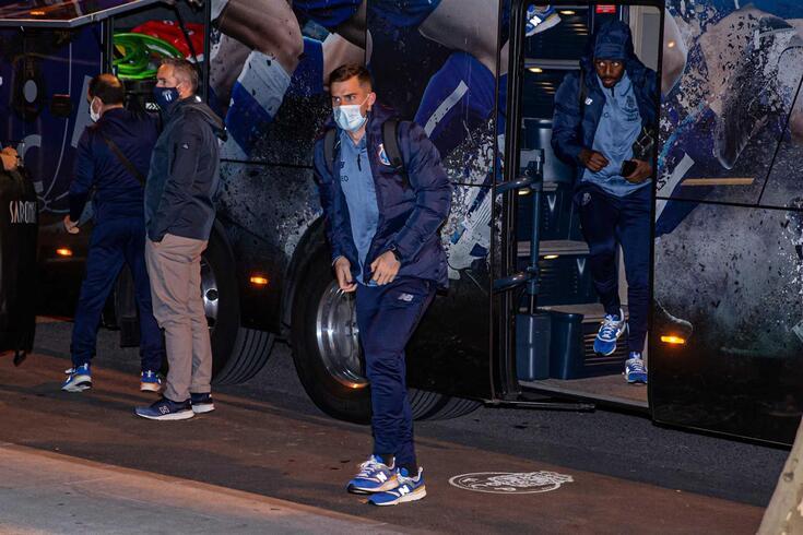 Madrugada contou com foguetes nas imediações do hotel do FC Porto