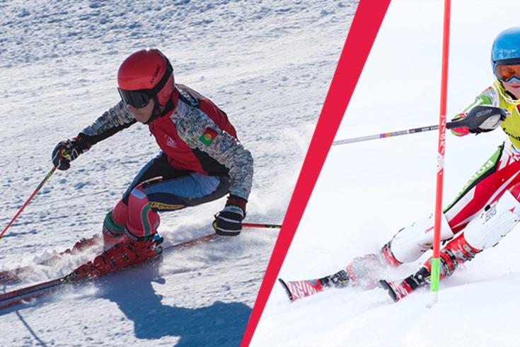 Manuel Ramos e Vanina Oliveira nos Jogos Olímpicos da Juventude de inverno