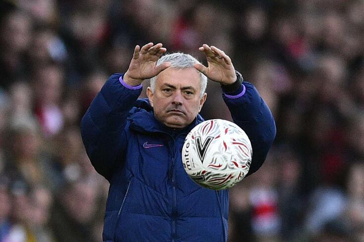 José Mourinho, treinador português do Tottenham