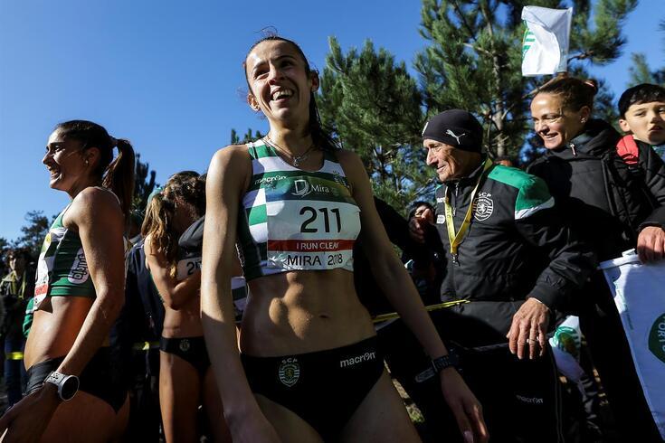 Sara Catarina Ribeiro, atleta do Sporting