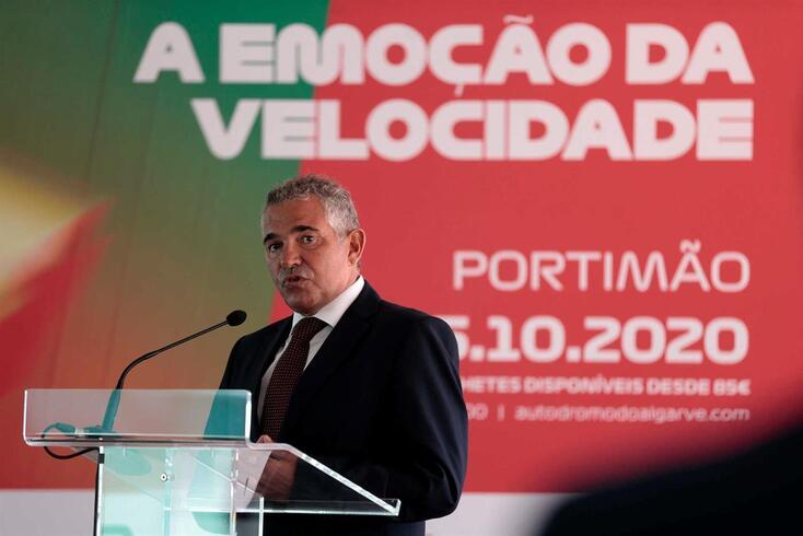 Ni Amorim, presidente da Federação Portuguesa de Automobilismo e Karting (FPAK)