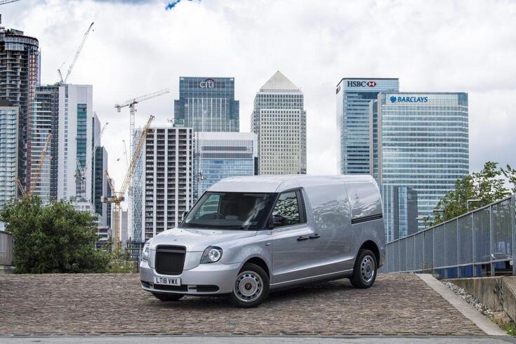 Táxi de Londres já transporta carga sem poluição
