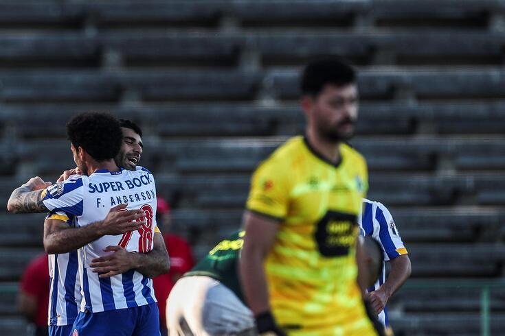 Fabril deixou boa imagem frente ao FC Porto